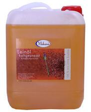 Makana Leinöl 5 L Pferde Tiere kaltgepresst 100% ohne Zusätze frisch ab Ölmühle