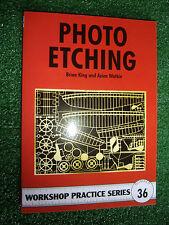#36 PHOTO ETCHING METALWORK BOOK WORKSHOP PRACTICE SERIES MANUAL model making