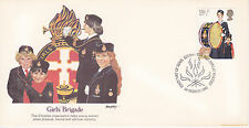 1982 EDINBURGH FIRST DAY COVER SCOUTING / YOUTH ORGANIZATIONS THE GIRLS' BRIGADE