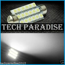 1x Ampoule 36mm C3W C5W C7W C10W LED 16 SMD Blanc White plaque Navette Festoon