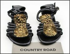 Country Road Buckle Leather Sandals & Flip Flops for Women