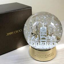 Jimmy Choo ULTRA RARE VIP Holiday Limited Edition Glass Snow Globe - NEW w/Box