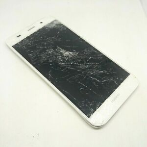 Huawei Y6 SCL-L01 White (UNTESTED) 8GB 4G Smartphone for Parts Spares Repair