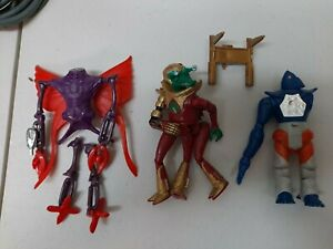 Lot Of Vintage Revell Power Lords Parts Raygoth Drrench Arkus
