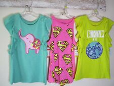 Cat & Jack Brand Girls Clothing Lot Size M 7/8 NWT 5 Pieces 4 tops 1 pr shorts
