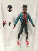 "Marvel Legends Spider-Man Into the Spider-Verse MILES MORALES Loose 6"" Figure"