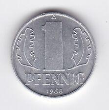 Germany 1 Pfennig 1968 Coin - MUST L@@K !!