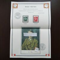 Germany Nazi 1938 Stamps MINT Third Reich Youth Carrying Torch WWII German Deuts