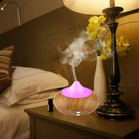 7 Farbes LED Ultraschall Luftbefeuchter Aroma Diffuser Aromatherapie Duftlampee