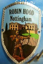 England Nottingham Robin Hood new mount stocknagel hiking medallion G9787
