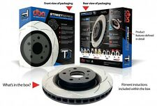 DBA T2 FRONT SLOTTED ROTORS suit SUBARU FORESTER XT SG,SH 2.5L EJ255 F4 294mm