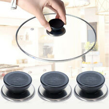 5Pcs Home Kitchen Stainless Steel Universal Round Pot Cap Cover Lid Knob Handle
