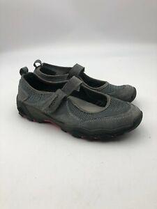 Propet Women Sz 9 (2E) Blazer Mary Jane Walking Shoes W03007 Leather Gray $139