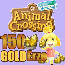 Animal Crossing New Horizons 150 Gold Erz  Sofortlieferung