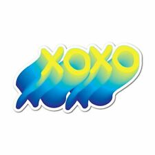 Hugs And Kisses Xoxo Sticker Decal Funny Hype Popular Fashion Silly New Cool