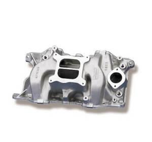 Weiand Intake Manifold 8022WND; Stealth Aluminum for Chrysler 318-360 LA Mopar