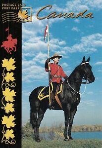 CANADA UX 120 - RCMP C074 - PREPAID POSTAGE POSTCARD -  RCMP GRC POLICE  VARIETY