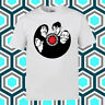 Red Hot Chili Peppers Vinyl Logo Men's White T-Shirt Size S M L XL 2XL 3XL