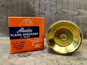 "ALADDIN 3"" FLAME SPREADER BLUE FLAME HEATER P159903 PARAFFIN KEROSENE (3)"