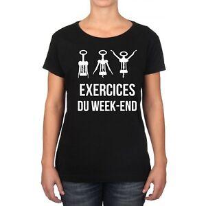 T-SHIRT FEMME EXERCICES DU WEEK-END