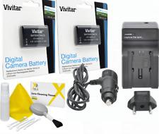2x VIVITAR EN-EL23 BATTERY + CHARGER + CLEANING KIT for Nikon Coolpix P900