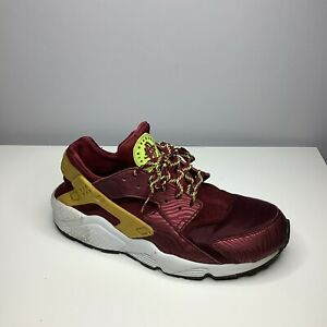 Nike Air Huarache Red Mens Sneaker Trainers UK Size 9 USA 10