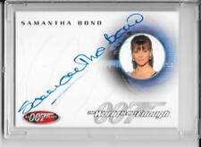 James Bond 40th Anniversary Autograph Card A19 Samantha Bond
