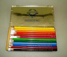 Set of 12 Vintage Old  Color Pencils TOISON D'OR POLYCOLOR 3822 BOHEMIA WORKS