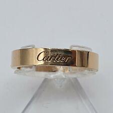Cartier Verlobungs - Ring Rot - Gold 750 punziert Gr. 58 Bandring 4mm