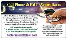 Cell Phone Radiation Neutralizers - 10 Pack - Ultra Slim - by Naturopathic Dr.