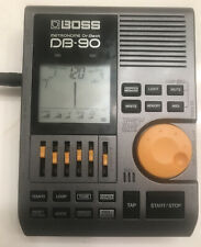 Boss Db-90 Talking Dr. Beat Metronome with power supply & Carrying Case