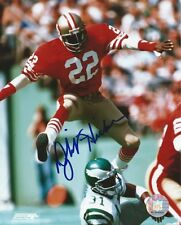 Dwight Hicks San Francisco 49er's autographed 8 x 10 glossy PhotoFile with proof