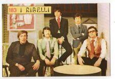 figurina CANTANTI PANINI 1968 REC numero 183 I RIBELLI