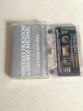 Whitney houston & George Michael music cassette if i told you that