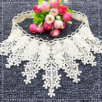 KE_ EB_ ITS- Fashion DIY Embroidery Lace Neckline Collar Trim Clothes Sewing A