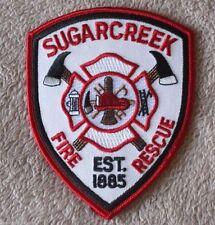 "Sugarcreek Fire Rescue Patch - Ohio - 4"" x 5"""