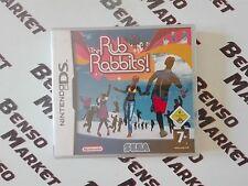 THE RUB RABBITS! (PROJECT RUB 2) NINTENDO DS 2DS 3DS ITALIANO NUOVO SIGILLATO