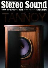 [Vintage Books] STEREO SOUND/ TANNOY, Autograph, Westminster, GRF, B5, 294 pages
