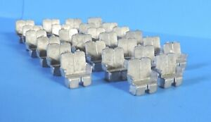 26 WALTHERS O SCALE PASSENGER CAR SEATS
