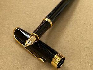 Jinhao Baoer 388 Stainless Steel Fountain Pen 0.5mm Nib + 5 FREE INK CARTRIDGES