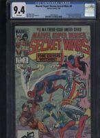 Marvel Super Heroes Secret Wars #3 CGC 9.4 Wolverine X-MEN Avengers