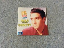 Elvis Presley EP Wild In The Country