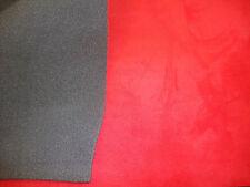 Foam Suede  Headlining Backed Crimson Fabric 60