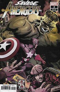 Savage Avengers Comic 2 Cover B Variant Tomm Coker First Print 2019 Gerry Duggan