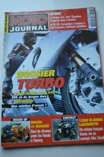 MOTO JOURNAL 1553 Essai Road Test TURBO SUZUKI GSX-R 1000 B-King 1300 Lazareth