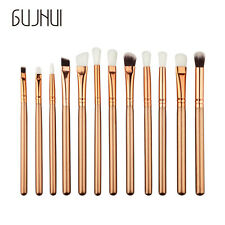 12PCS  Make Up Foundation Eyebrow Eyeliner Blush Cosmetic Concealer Brushes A