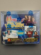 WOMEN OF STAR TREK VOYAGER HoloFEX FACTORY SEALED BOX + SELL-SHEET & 7of9 PROMO