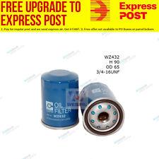 Wesfil Oil Filter WZ432 fits Toyota Rav 4 2.0 VVTi 4x4,2.4 VVTi ,2.4 VVTi 4x4