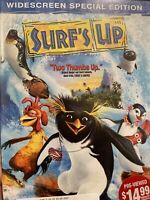 Surfs Up DVD the Movie Cartoon widescreen SURFSUP Chris rock  Zooey Deschanel