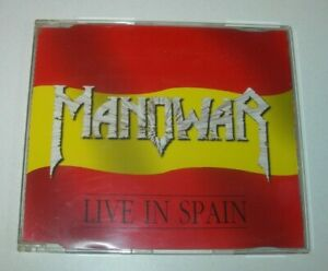 Manowar: Live in Spain CD EP Nuclear Blast 1998